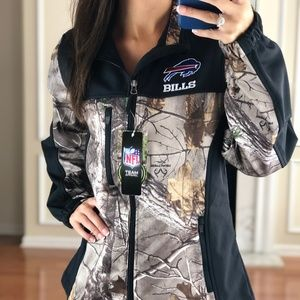 Buffalo Bills Women Realtree Softshell Jacket M